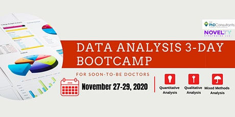 Data Analysis 3-day Bootcamp tickets