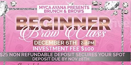 Brunch & Brows tickets