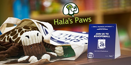 Small Business Saturday at Hala's Paws tickets