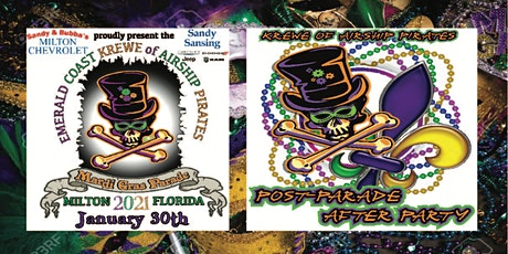 Milton Mardi Gras Parade Afterparty tickets