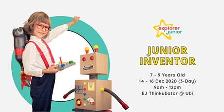 Jr. Inventor Holiday Camp tickets