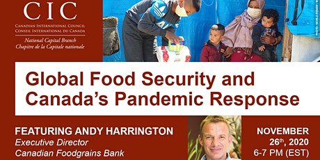 Global Food Security and Canada's Pandemic Response tickets