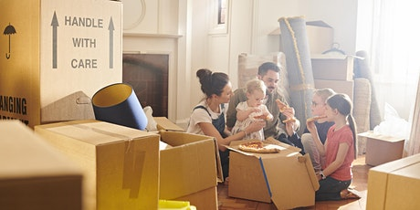 An ADF families webinar: Making a new home-integrating into a new location tickets
