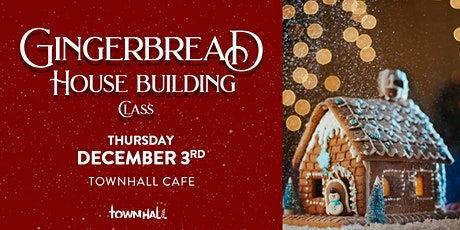 Gingerbread House Building Workshop tickets