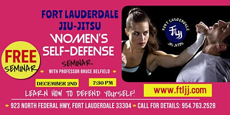Women Self Defense Seminar tickets