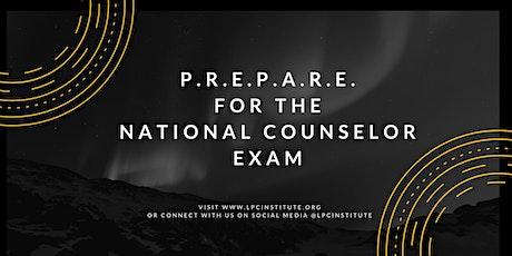 P.R.E.P.A.R.E. for the National Counselor Exam tickets