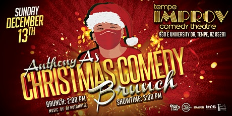 Anthony A's Christmas Comedy Brunch tickets