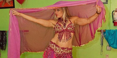 Bellydance(with veil dancing) with Samira Dawn, Multilevel Class tickets