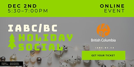 IABC/BC Holiday Social: Have the final SLEIGH! tickets