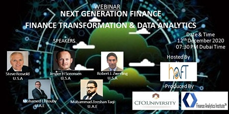 """Finance Transformation & Data Analytics"" tickets"