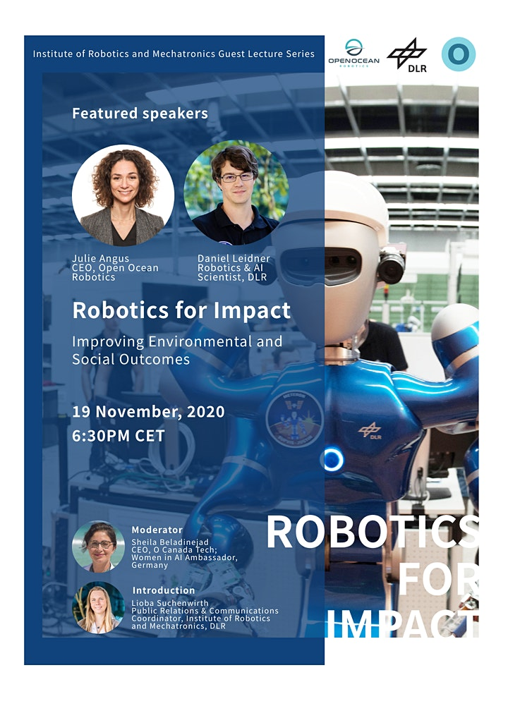 Robotics for Impact - Improving Environmental and Social Outcomes image