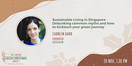 Sustainable Living in Singapore tickets