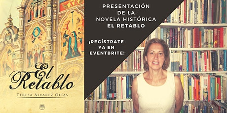 """Presentación de novela histórica """"El retablo"""" en biblioteca de S. S. Reyes entradas"""