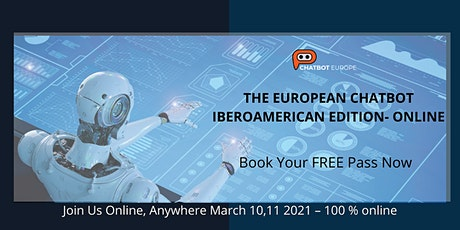 THE EUROPEAN CHATBOT - IBEROAMERICAN EDITION tickets