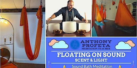 FLOATING On Sound: Aerial Hammock Sound Bath Meditation (February) tickets