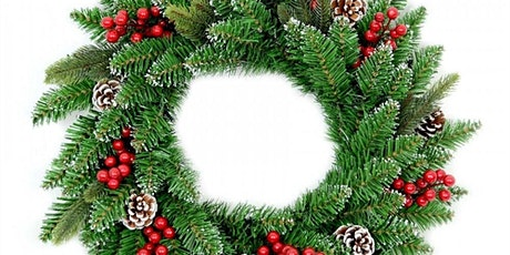 Christmas Wreath Making Kit and Zoom. Collect Sunday 6 Dec 2020 10-12noon. tickets