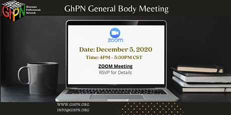 GhPN General Body Meeting tickets