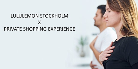 Private shopping at lululemon Stockholm tickets