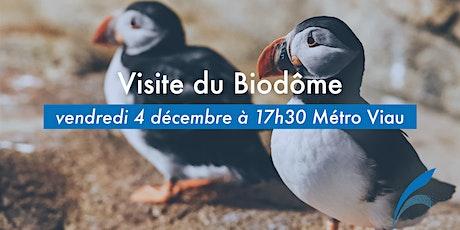 ANNULÉE / Visite du Biodôme billets