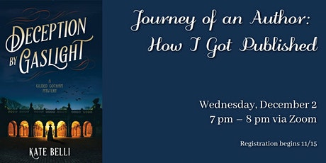 Journey of an Author: How I Got Published tickets