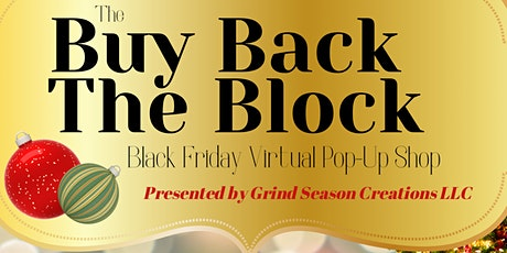 The Buy Back The Block Black Friday Pop Up Shop tickets