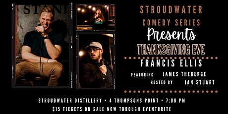 Thanksgiving Eve Comedy Show | Francis Ellis tickets