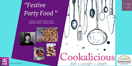 Festive Party Food with Cookalicious tickets