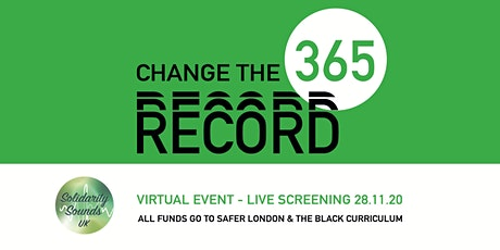 Change The Record '365' tickets