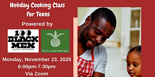 Holiday Cooking Class for Teens