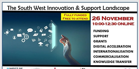 The South West Innovation & Support Landscape tickets