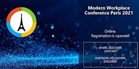 Modern Workplace Conference Paris 2021 online biglietti