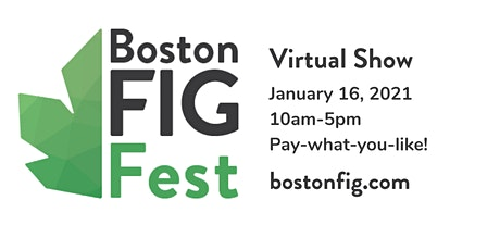 BostonFIG Fest Virtual tickets