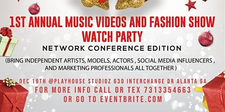 1st Annual Music Videos and Fashion Show  Premiere Night tickets