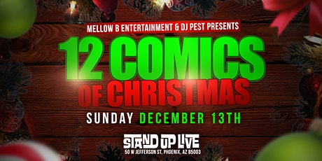 12 Comics of Christmas tickets