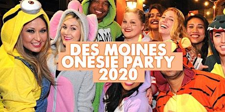 DES MOINES ONESIE PARTY | POSTPONED tickets