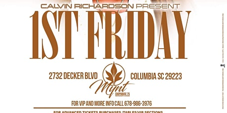 1st  Friday hosted by Calvin Richardson tickets