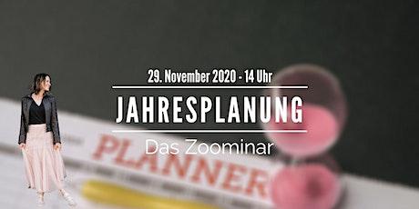 "Zoominar ""Jahresplanung 2021"" Tickets"
