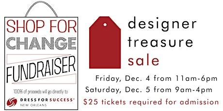 Designer Treasure  Sale tickets