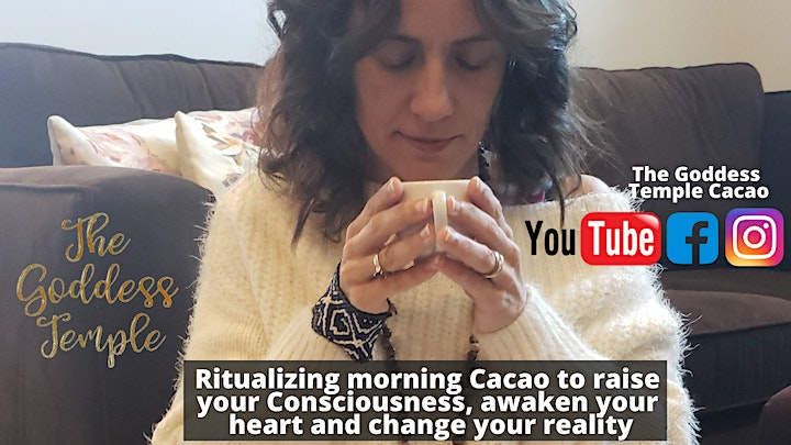 Sacred Womb Connection + Ceremonial Cacao Circle image