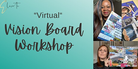 2021 'VIRTUAL' VISION BOARD WORKSHOP tickets