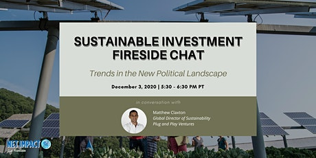 NISF Sustainable Investment Series: Fireside Chat with Matthew Claxton tickets
