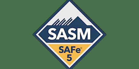 SAFe® 5 Advanced Scrum Master - Remote/Online - SAFe Bronze Partner tickets