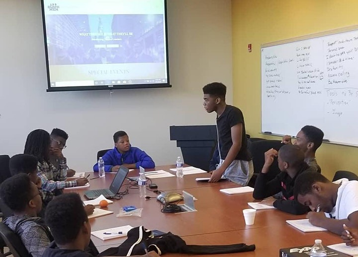 #100BlackMenPhilly Young CEO Financial Empowerment Programs (Open House)! image