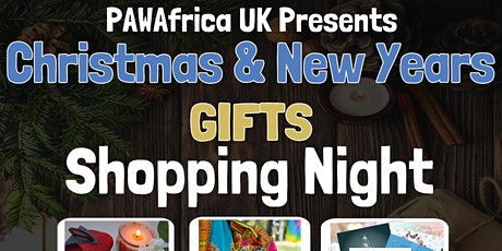PAW Africa UK Christmas and New Year Online Shopping Night tickets