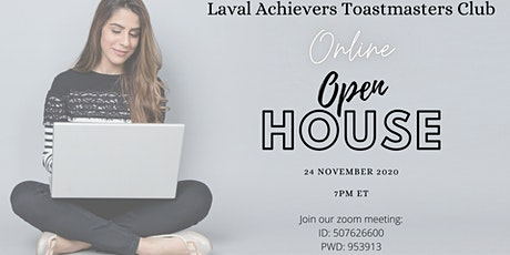 Laval Achievers Toastmasters Club - Online Open House tickets