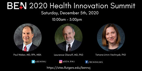 RWJMS BEN 2020 Health Innovation Summit tickets