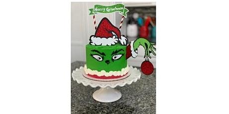 GRINCH Online Cake Decorating Tutorial and Cake Kit tickets