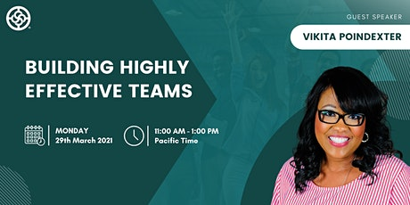 Building Highly Effective Teams with Vikita Poindexter - NAWBO Oregon tickets
