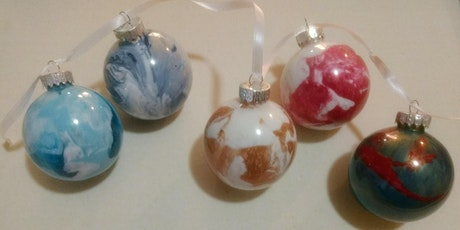 Pour & Paint Christmas Balls tickets