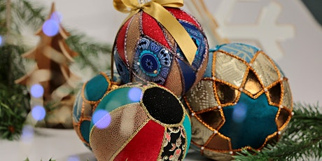 DIY Christmas Ornament Kimekomi Workshop tickets